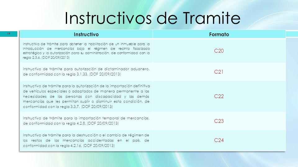 Instructivos de Tramite 19