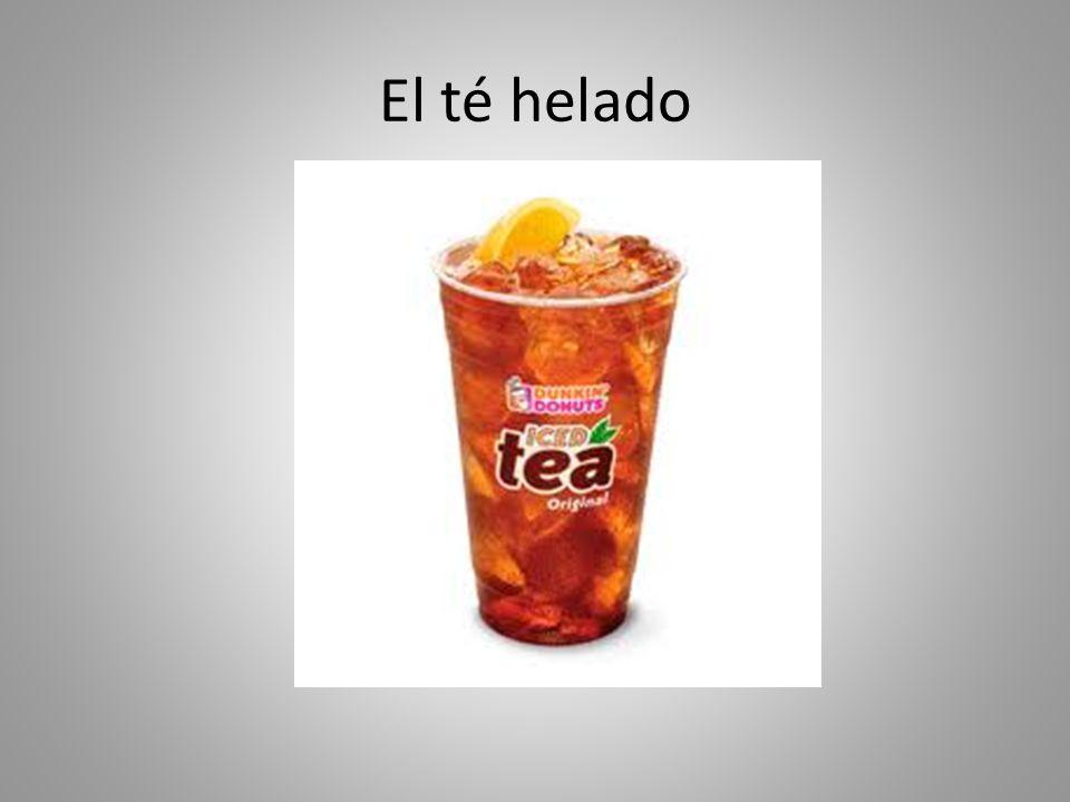 El té helado