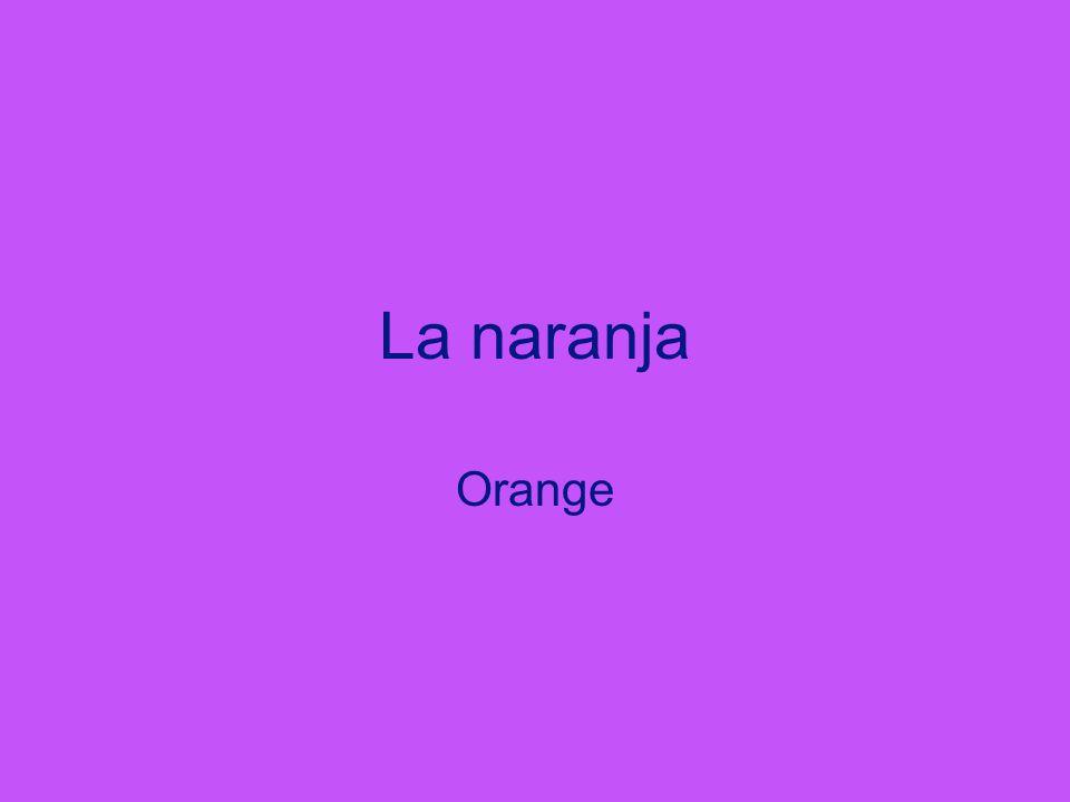 La naranja Orange