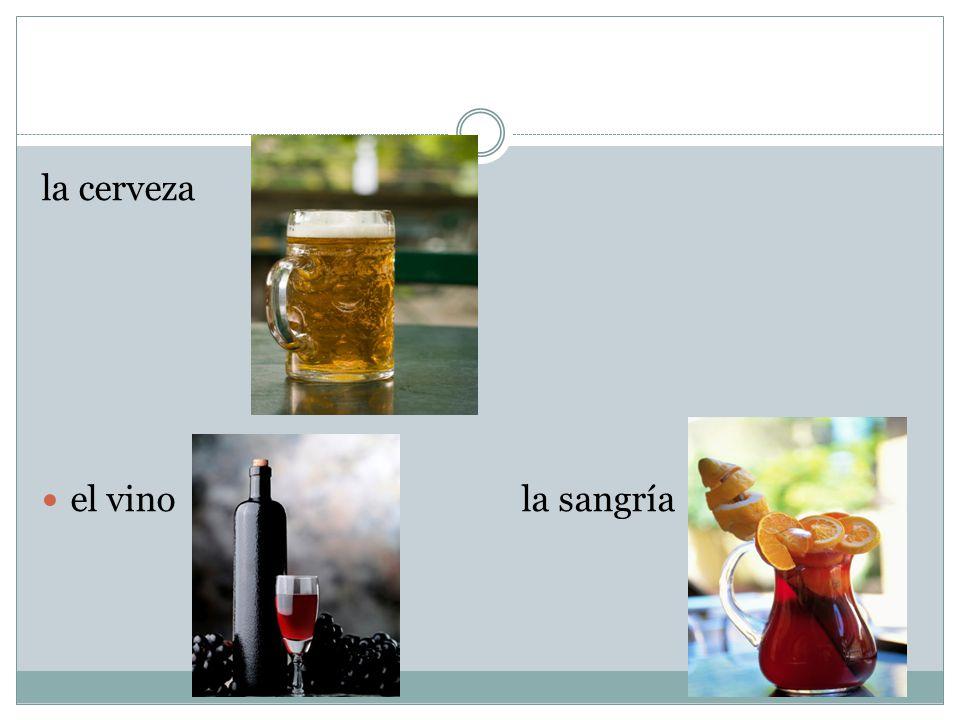 la cerveza el vinola sangría