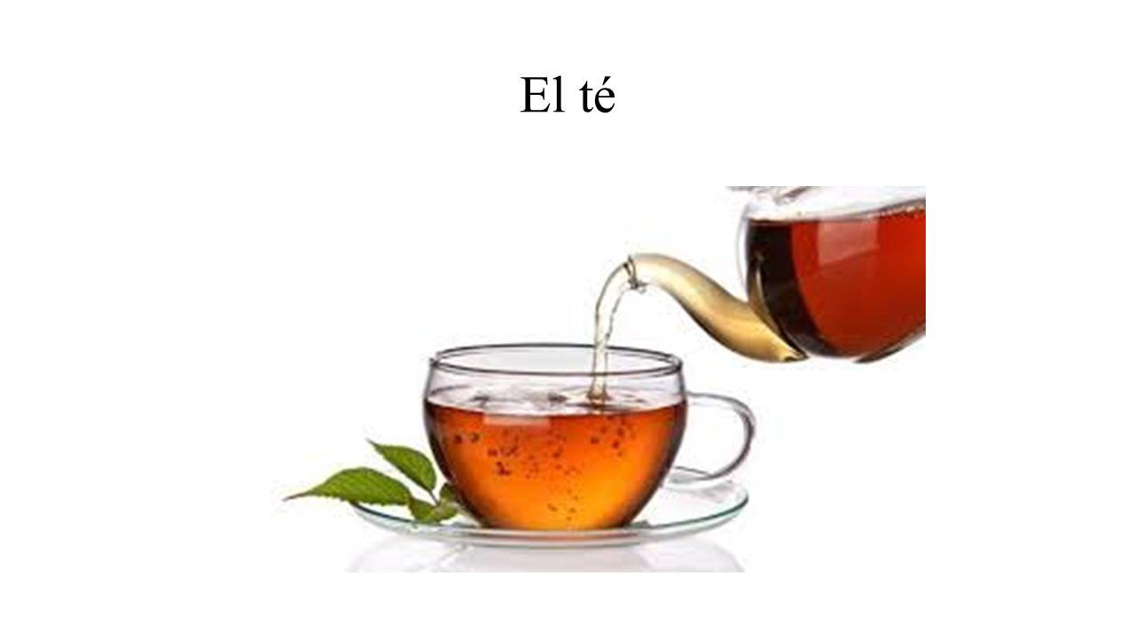 El té