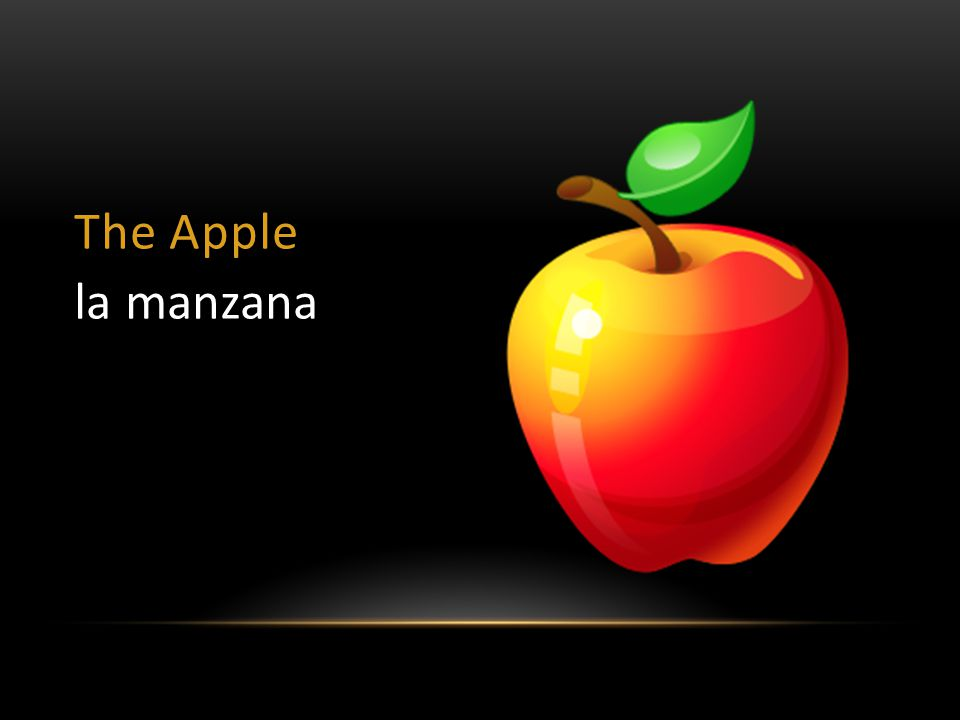 The Apple la manzana
