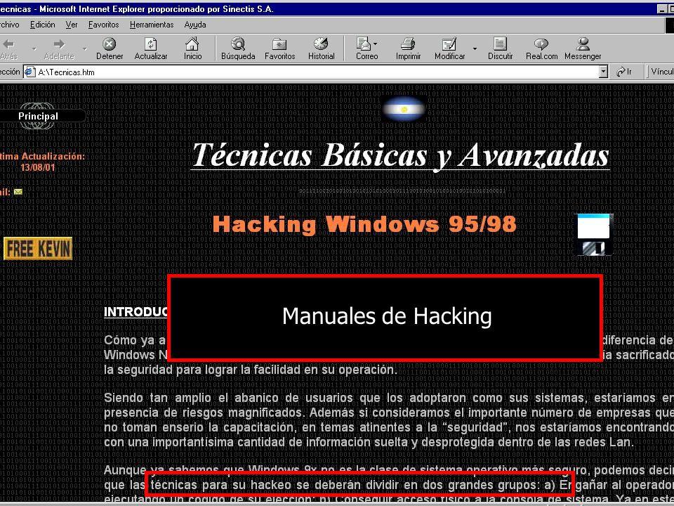 Manuales de Hacking