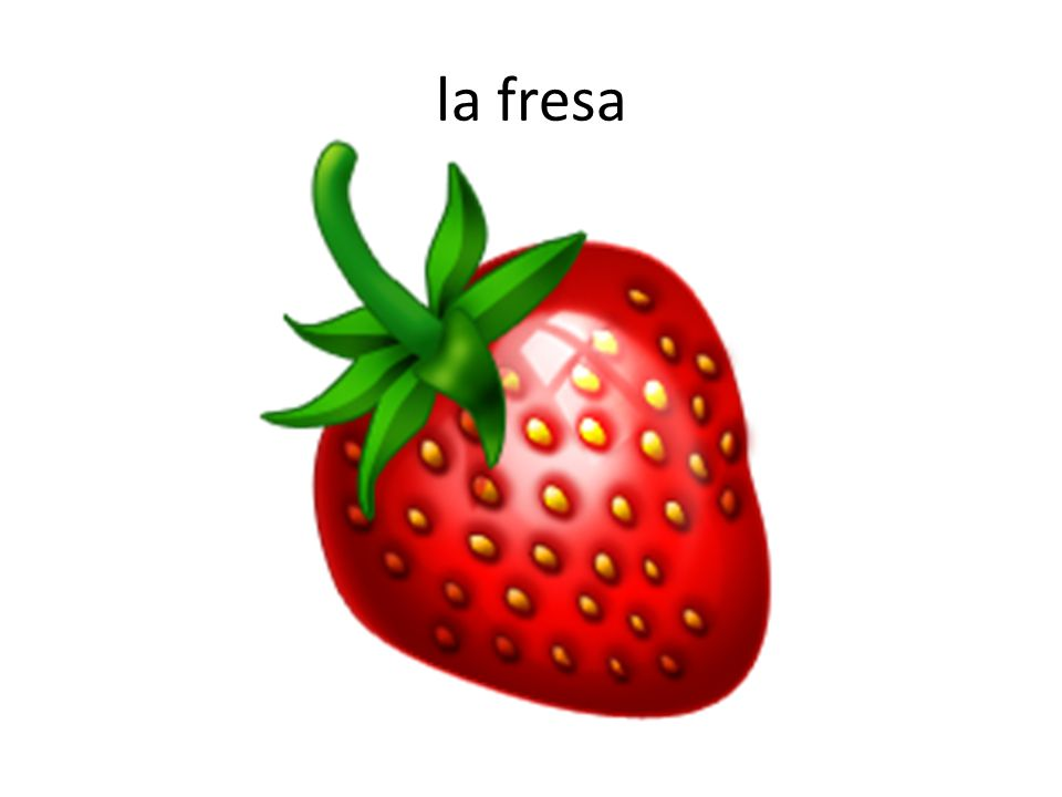 la fresa