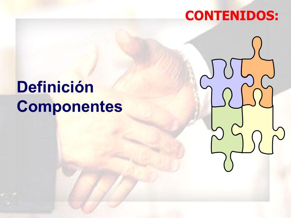 WIL FRE DO MAR QUI NA MAU NY Definición Componentes CONTENIDOS:
