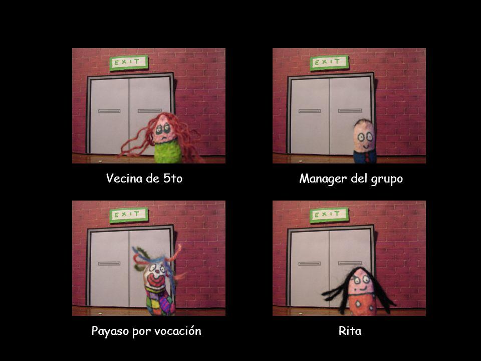 Vecina de 5to Manager del grupo Payaso por vocación Rita