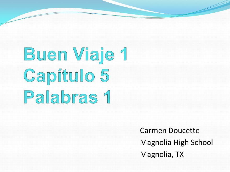 Carmen Doucette Magnolia High School Magnolia, TX