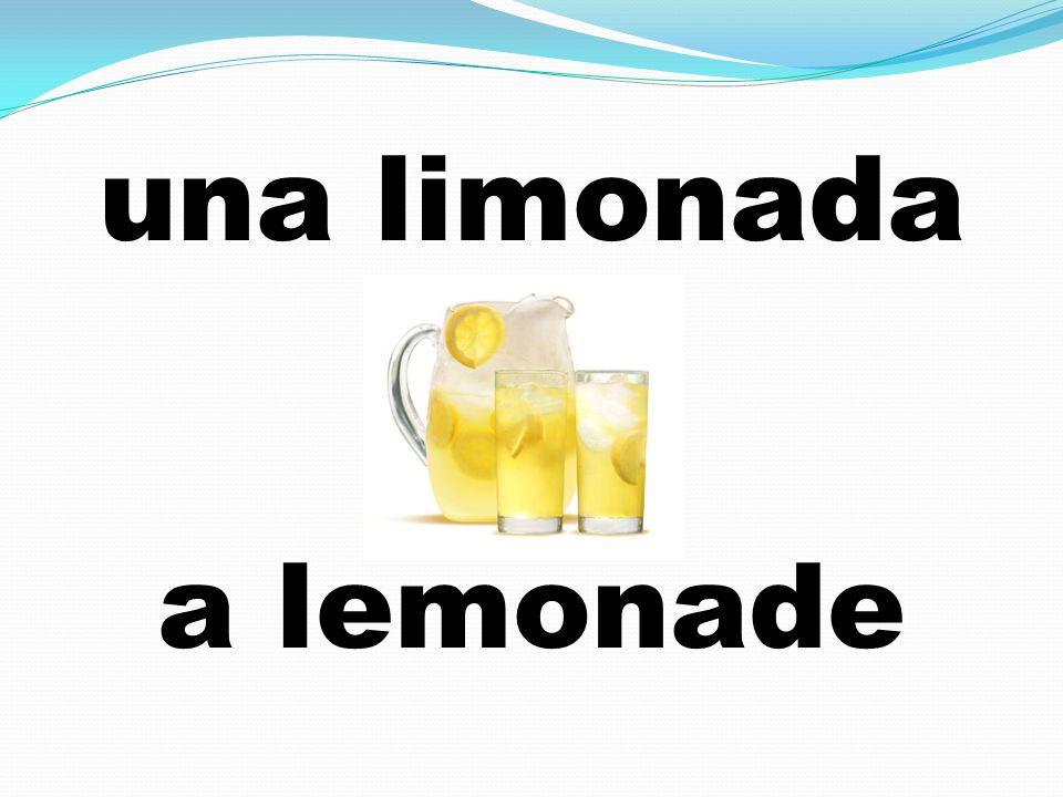 una limonada a lemonade