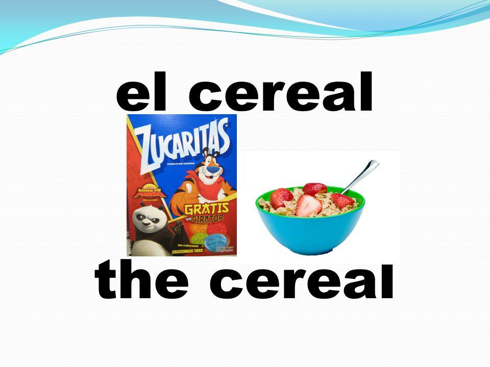 el cereal the cereal