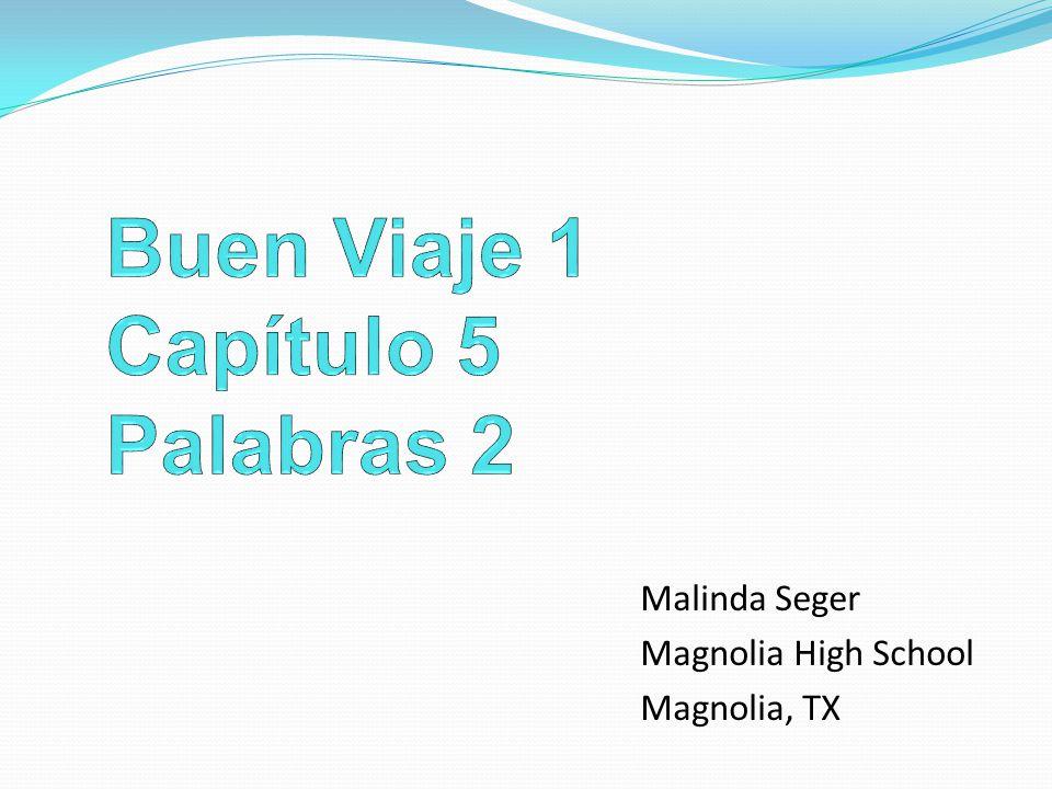 Malinda Seger Magnolia High School Magnolia, TX