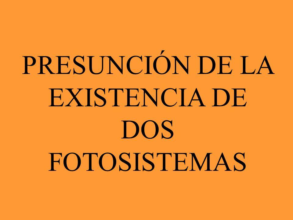 EFECTO EMERSON INCREMENTO DEL ROJO DECREMENTO DEL ROJO DOS LONGITUDES DE ONDA SIMULTANEAS UNA SOLA LONGITUD DE ONDA INCIDENTE