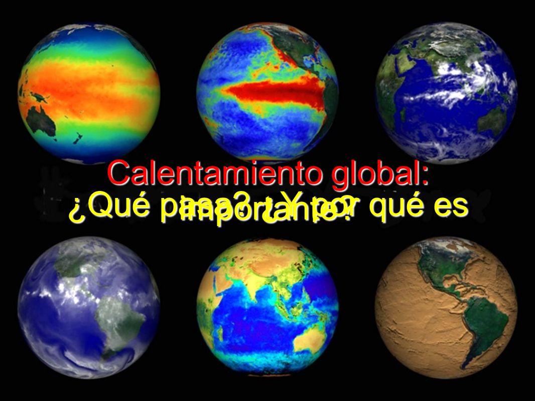Calentamiento global: ¿Qué pasa ¿Y por qué es importante