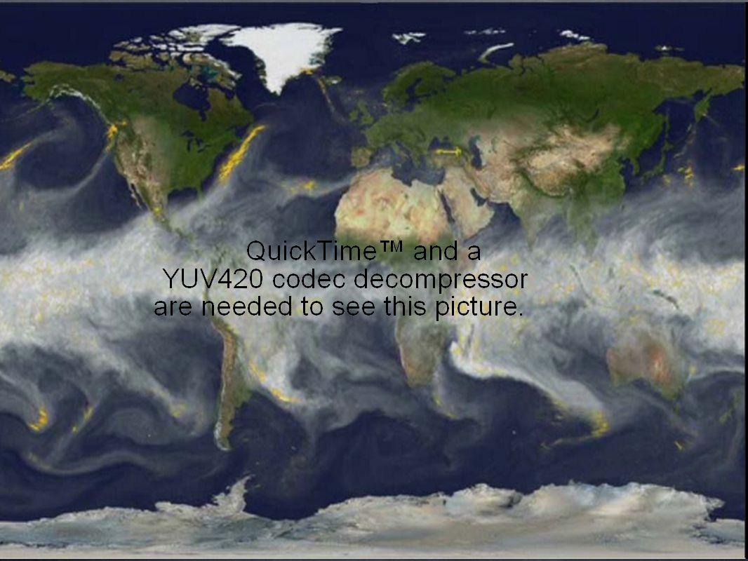 Ahora podemos combinar el calor, los vientos, las corrientes y las montañas para dar una mirada a los patrones globales del clima.