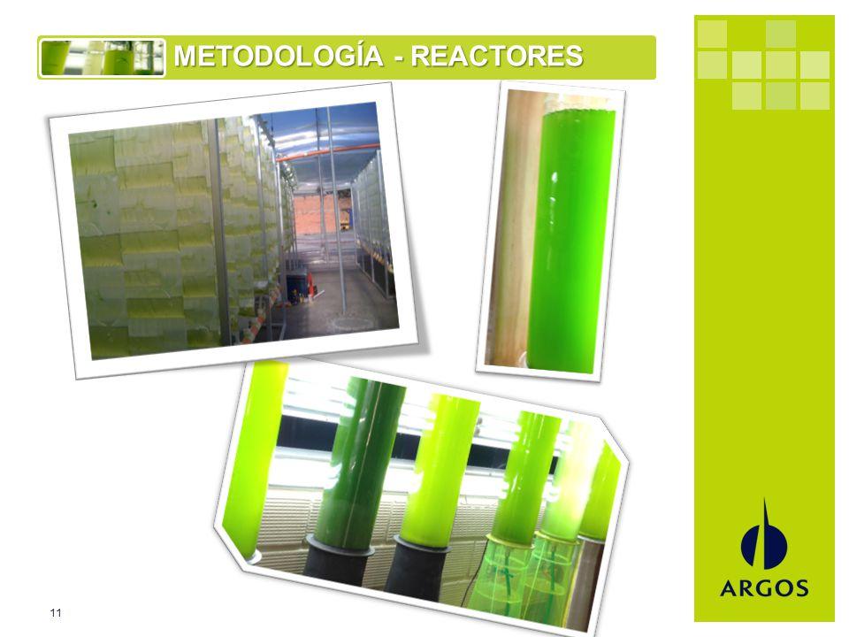 11 METODOLOGÍA - REACTORES