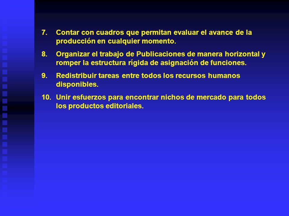 Reto 10. Transformar y optimizar las áreas de publicaciones del CISAN.