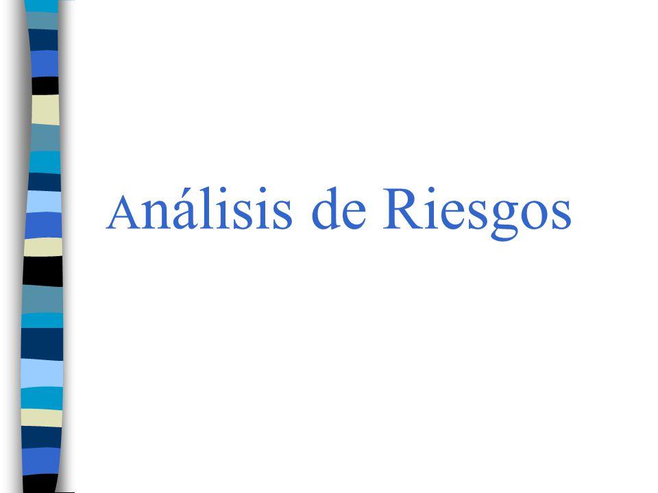 A nálisis de Riesgos