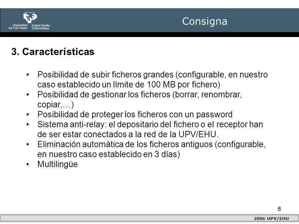 6 Consigna 2006 UPV/EHU 3.