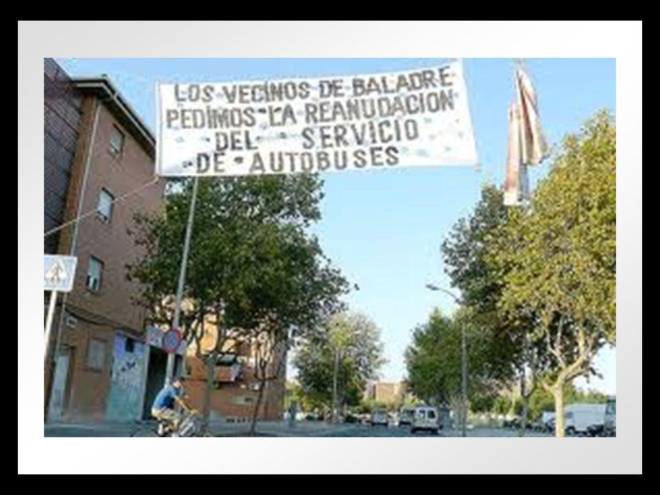 LOS VECINOS DE BALADRE PEDIMOS LA REANUDACIÓN DELSERVICIO DE AUTOBUSES
