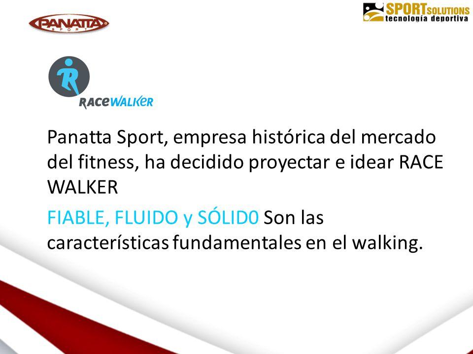 Panatta Sport, empresa histórica del mercado del fitness, ha decidido proyectar e idear RACE WALKER FIABLE, FLUIDO y SÓLID0 Son las características fundamentales en el walking.