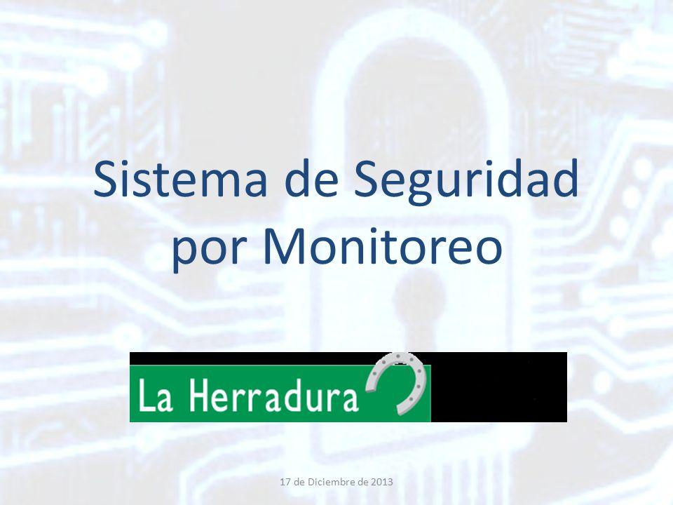 Sistema de Seguridad por Monitoreo 17 de Diciembre de 2013