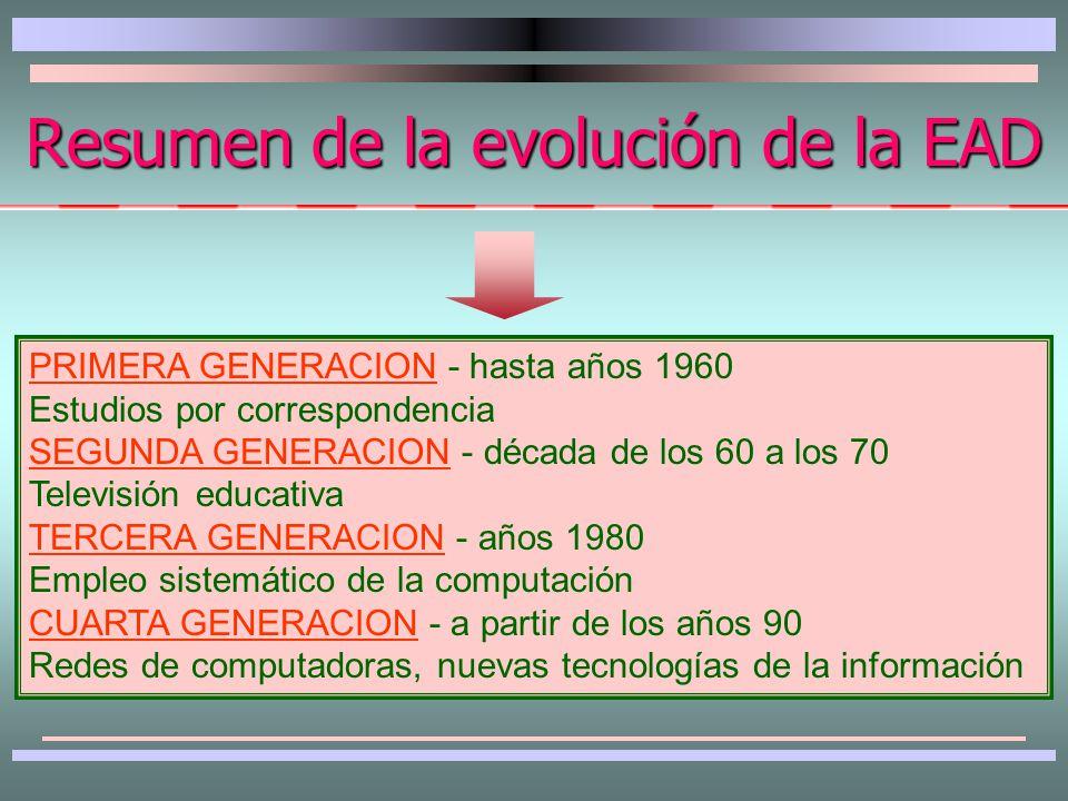 Se caracteriza por la explosión y desarrollo vertiginoso de las comunicaciones y la informática aplicada a los procesos educacionales.