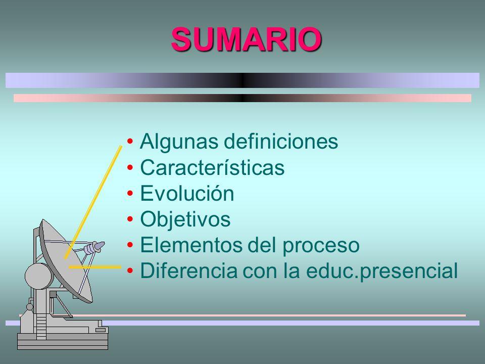 Educación A Distancia Consideraciones generales de la EAD Clase 1