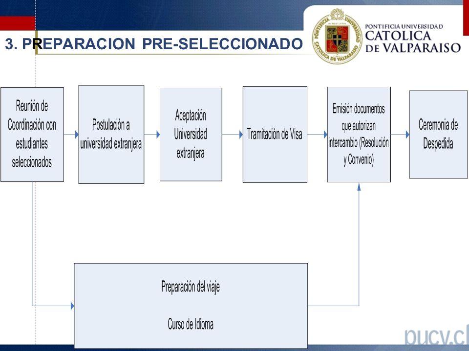 3. PREPARACION PRE-SELECCIONADO