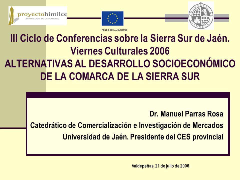 III Ciclo de Conferencias sobre la Sierra Sur de Jaén.