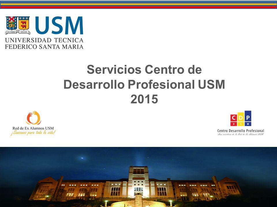 Servicios Centro de Desarrollo Profesional USM 2015