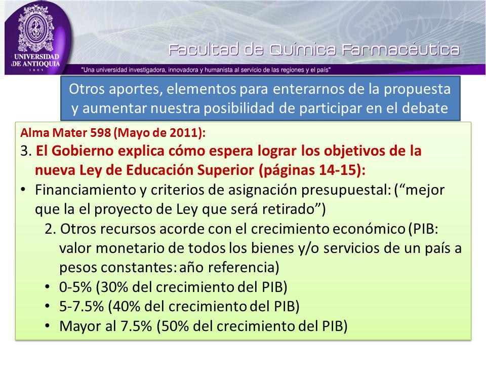 Alma Mater 598 (Mayo de 2011): 3.