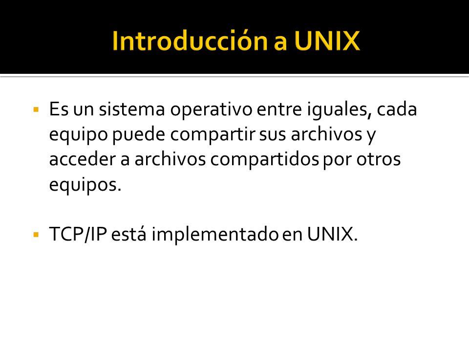  Es un sistema operativo entre iguales, cada equipo puede compartir sus archivos y acceder a archivos compartidos por otros equipos.