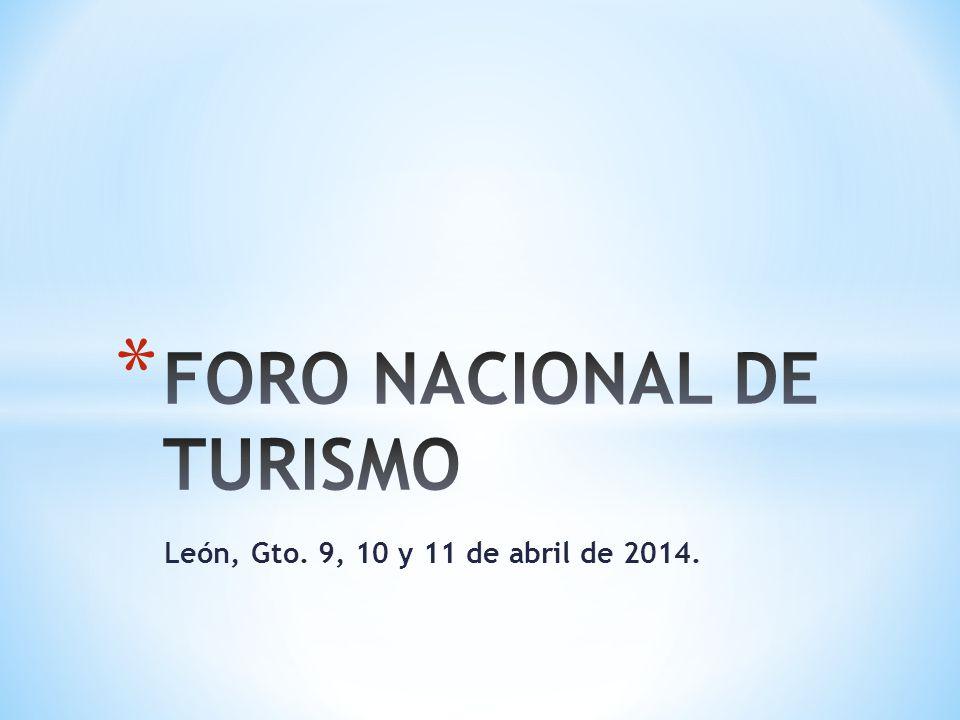 León, Gto. 9, 10 y 11 de abril de 2014.