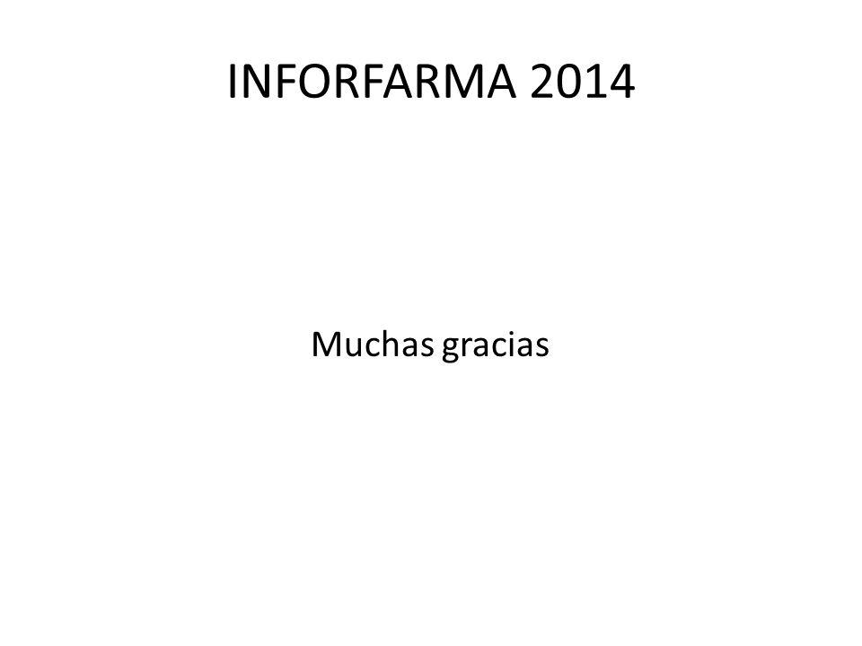 INFORFARMA 2014 Muchas gracias