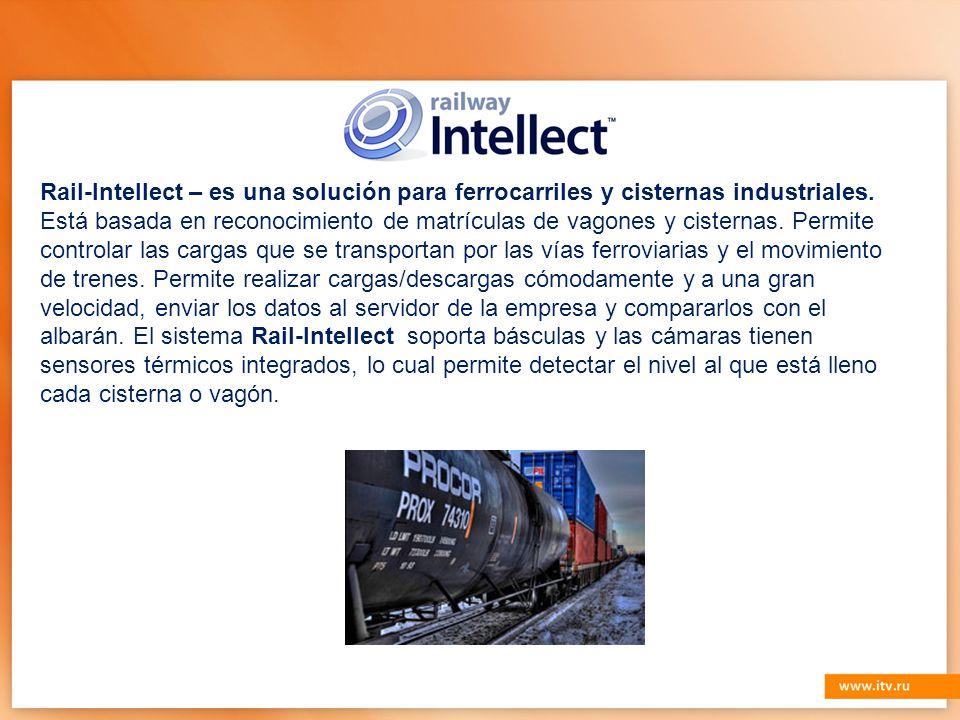 Rail-Intellect – es una solución para ferrocarriles y cisternas industriales.