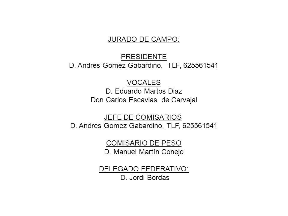 COMITÉ ORGANIZADOR: Club Deportivo Hípica Internacional Licencia 179 Categoría Nacional Camino de la Sierra, 79, Churriana, 29140, Málaga hipicainternacional@gmail.com Presidente Dña.