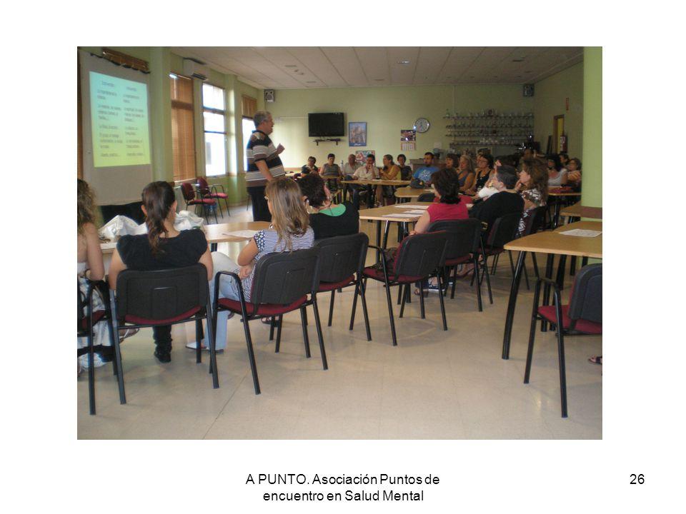 A PUNTO. Asociación Puntos de encuentro en Salud Mental 26