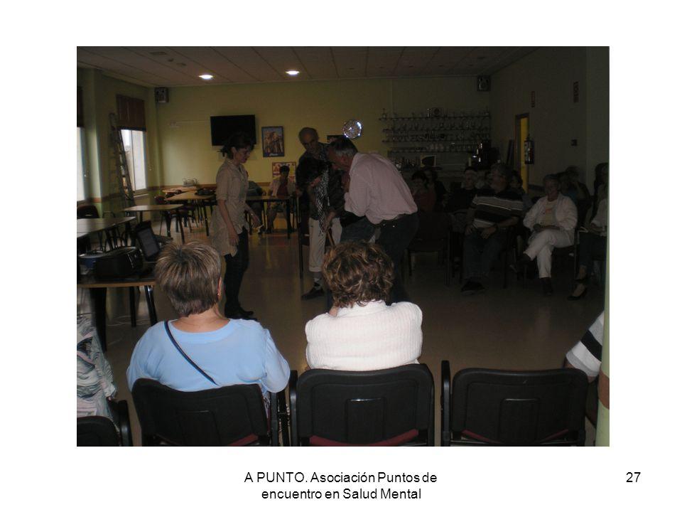 A PUNTO. Asociación Puntos de encuentro en Salud Mental 27