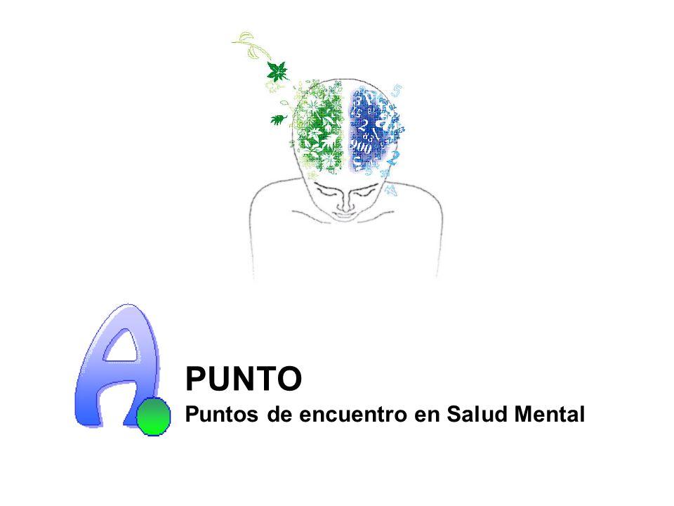 PUNTO Puntos de encuentro en Salud Mental