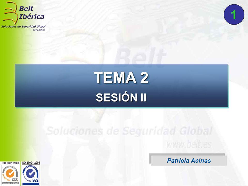 Patricia Acinas TEMA 2 SESIÓN II 1