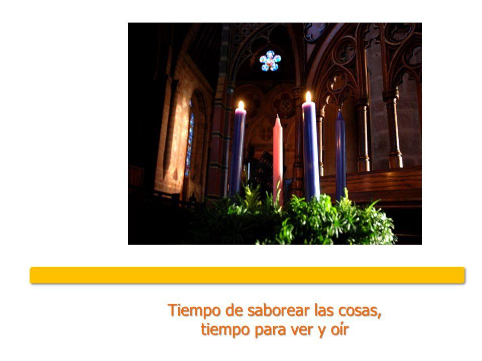 Tiempo de aprendizaje y de búsqueda, tiempo de oración