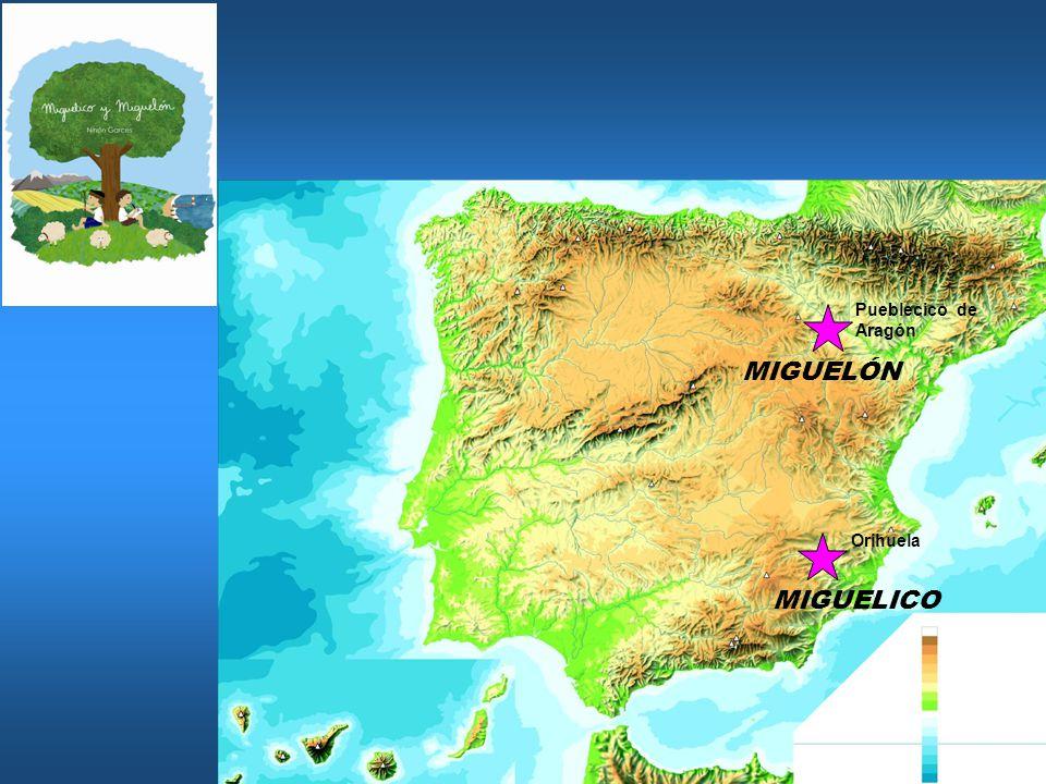 MIGUELÓN MIGUELICO Pueblecico de Aragón Orihuela
