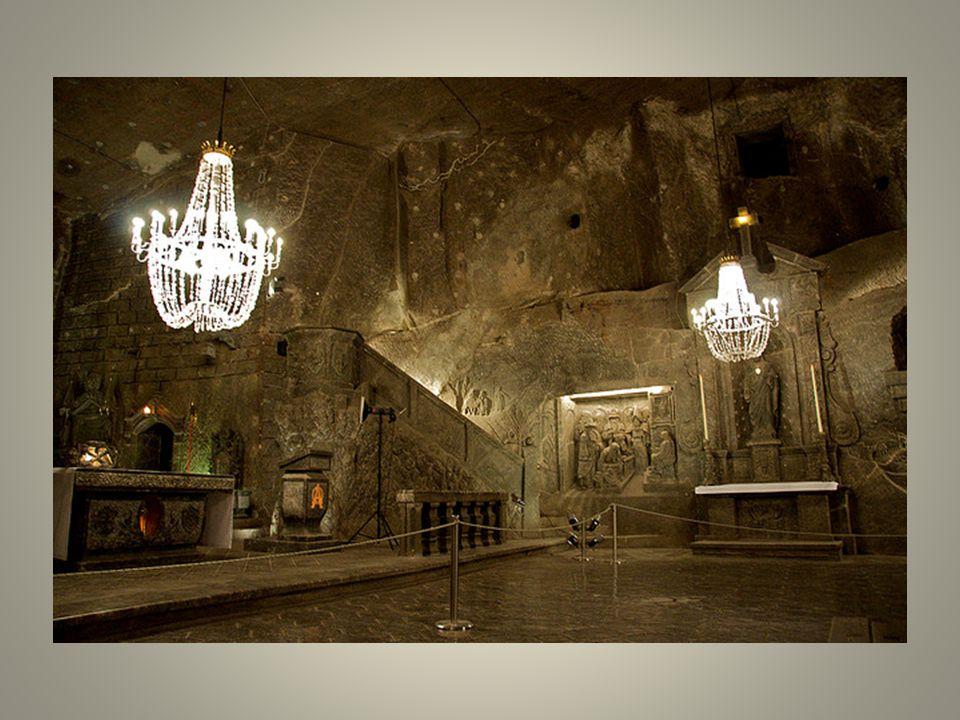 Visto desde fuera, la mina de sal de Wieliczka tiene nada especial.