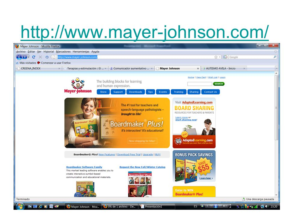 http://www.mayer-johnson.com/