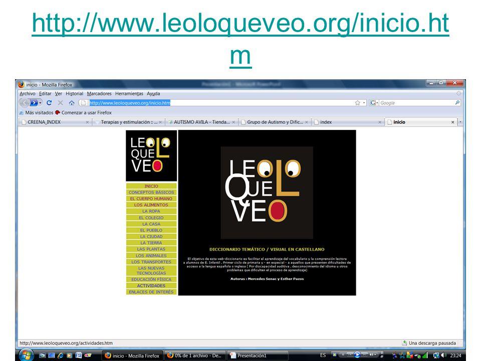 http://www.leoloqueveo.org/inicio.ht m