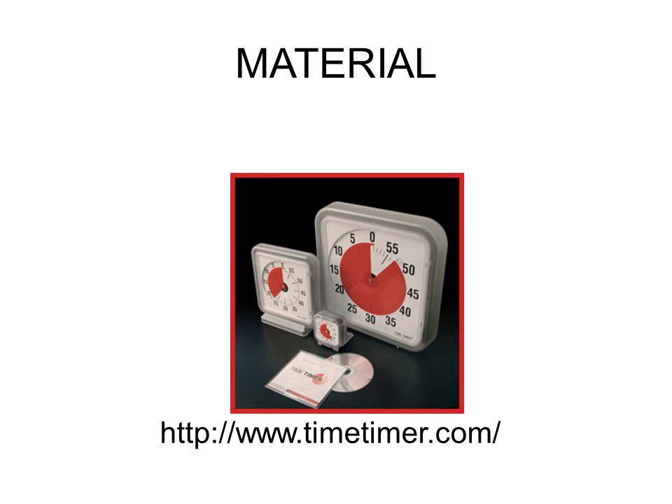http://www.timetimer.com/ MATERIAL