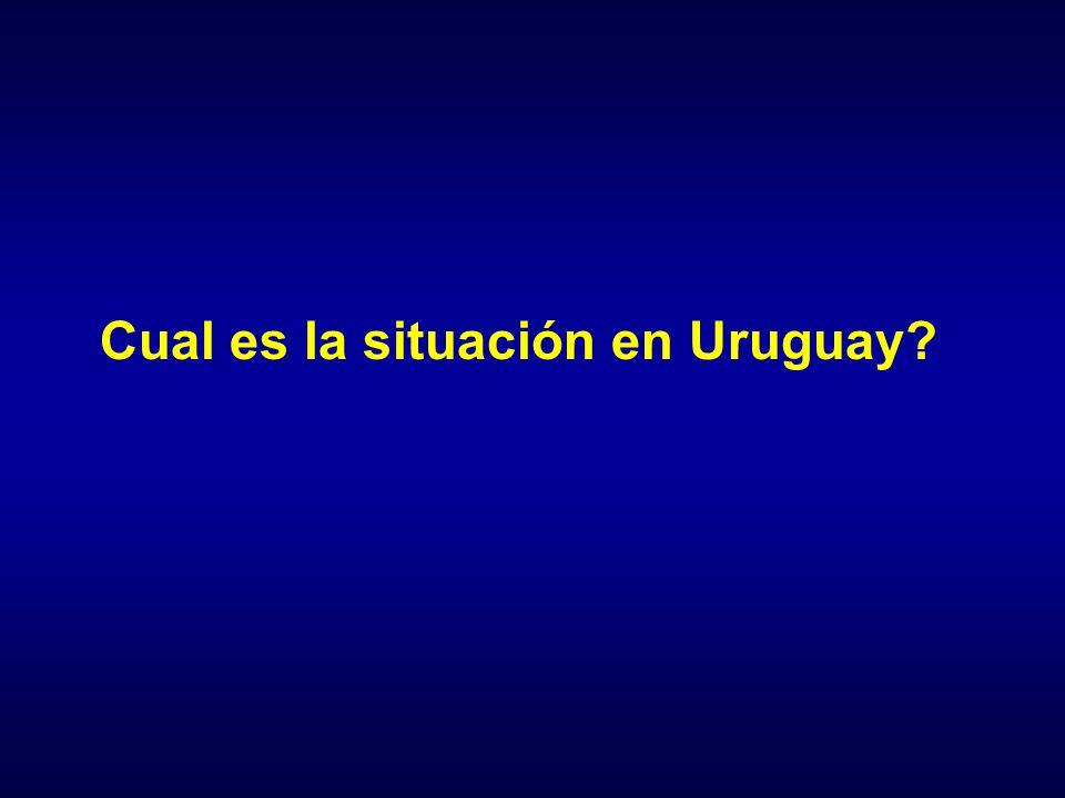 Cual es la situación en Uruguay