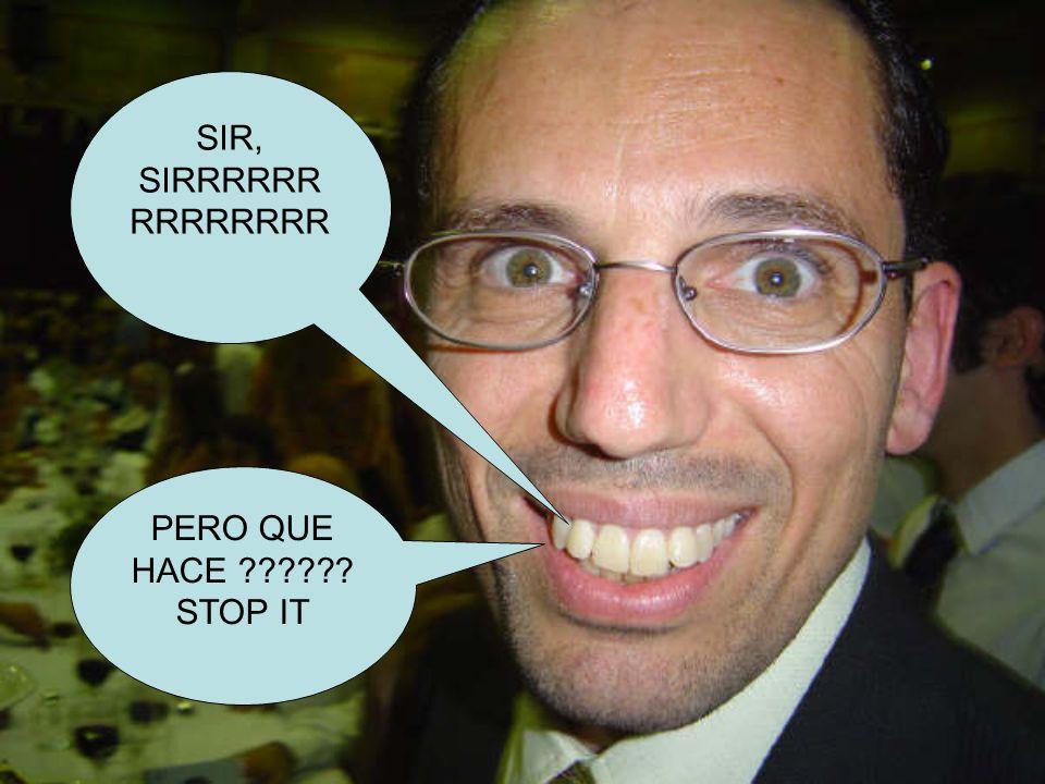 COÑO, QUE MIERDA HACE ESTE TIPO ACA !!!