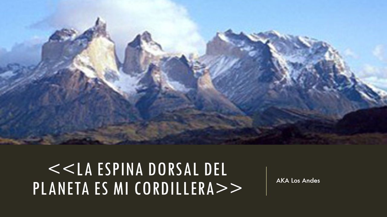 > AKA Los Andes