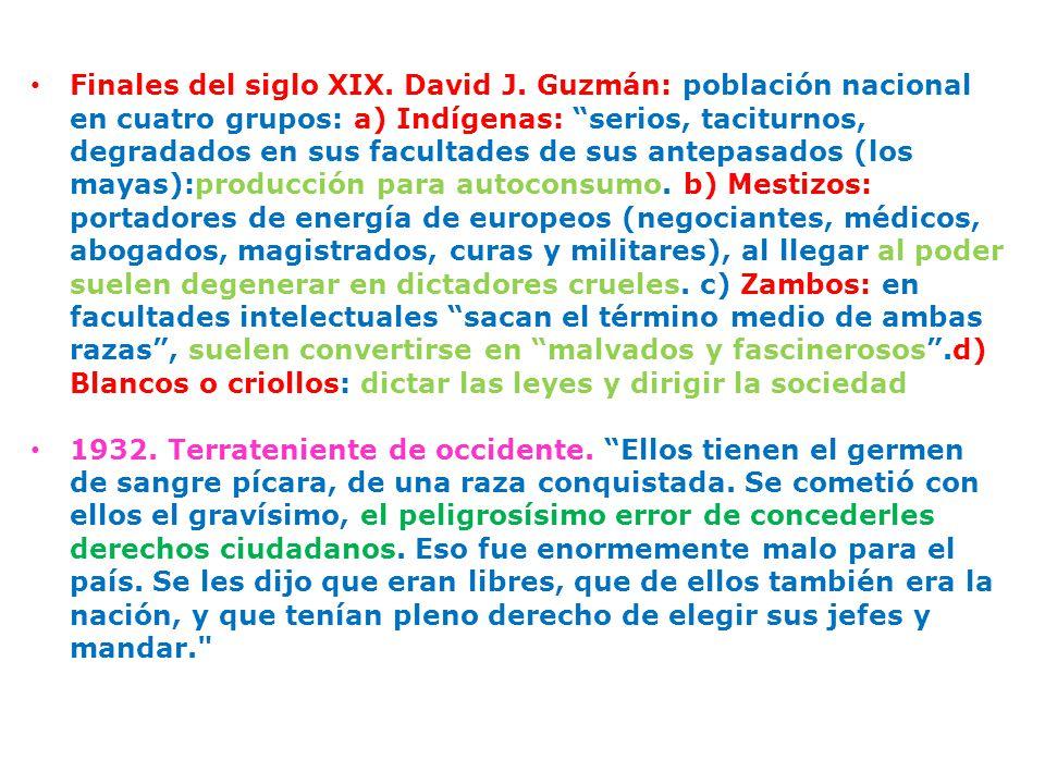 Finales del siglo XIX. David J.