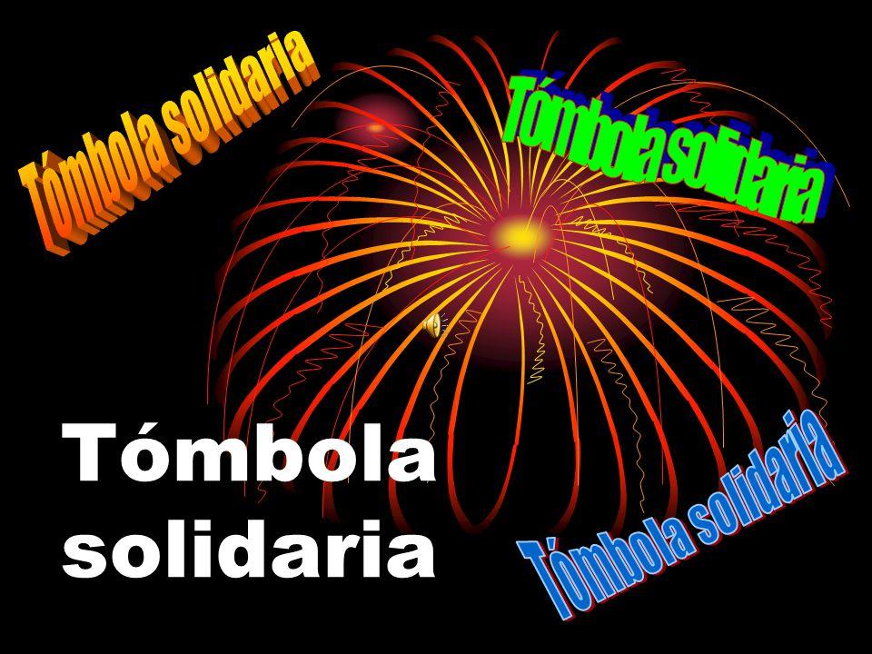 Tómbola solidaria